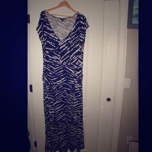 Black and white torrid 2x dress